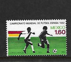 MEXICO, 1278, MNH, 1982 WORLD CUP