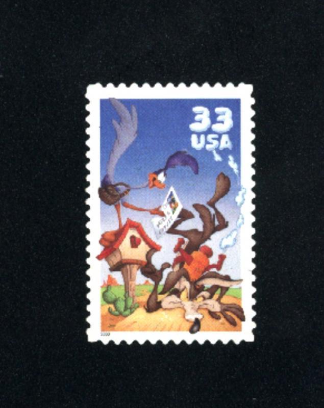 USA # 3391  5 used 2000 PD .08