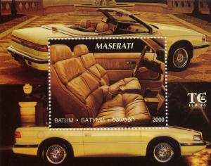 Batum 2000 Maserati TC by Chrysler SS (1) SS Perforated MNH VF