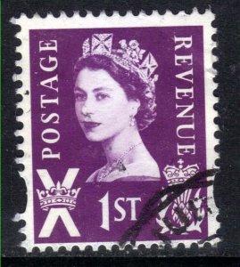 Scotland GB 2008 QE2 1st Lilac Anniv Definitive used SG S 154 ( D41 )