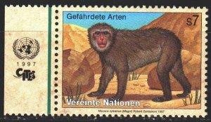 UN Vienna. 1997. 222 from the series. Monkey, fauna. MNH.