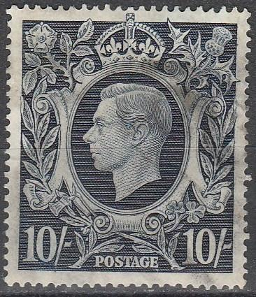 Great Britain #251  F-VF Used  CV $24.00  (A12373)