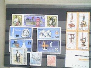 German Democratic Republic  MNH  nice lot of stamps