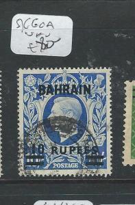 BAHRAIN (PP2502B) KGVI ON GB SG 60A  VFU