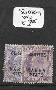 INDIA NABHA (P3009B) KE 2A SERVICE  SG O28-9  VFU