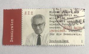 Germany 2019 Fritz Bauer - Democrats - German Jewish Judge; Mi 3502