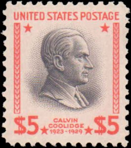 United States #834, Incomplete Set, High Value, 1938, Never Hinged