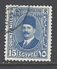 Egypt 139 used wm 195 (DT)