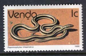 South Africa Venda 128 Snake MNH VF