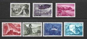 Liechtenstein 336-342  MNH