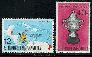 Saint Kitts-Nevis Scott 322-323 Mint never hinged.