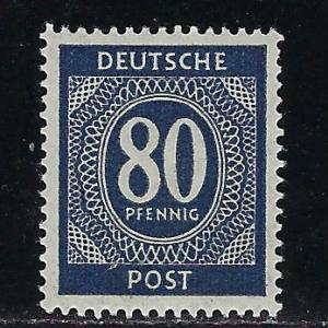 Germany AM Post Scott # 554, mint nh