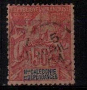 New Caledonia Scott 54 Used  (Catalog Value $37.50) [TC736]
