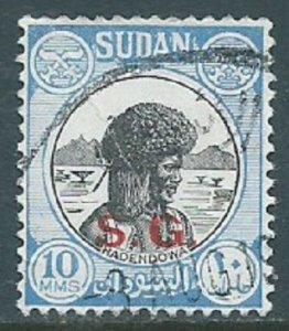 Sudan, Sc #O49, 10m Used