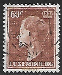 Luxembourg # 252 - Grand Duchesse Charlotte - 60ct - used...(KlGr)