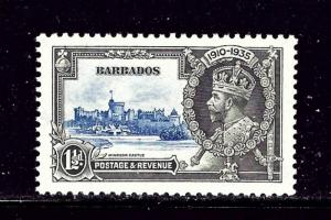 Barbados 187 MNH 1935 KGV Silver Jubilee
