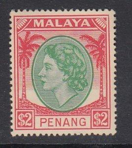 Malaya Penang Sc 21 (SG 72), MHR