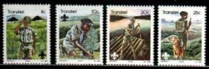 1982 So. Africa Transkei Scott 93-96 Boy Scouts MNH