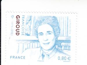 2016 France Francoise Giroud (Scott 5092) MNH