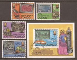 Congo  # 499 - 503  used   CTO