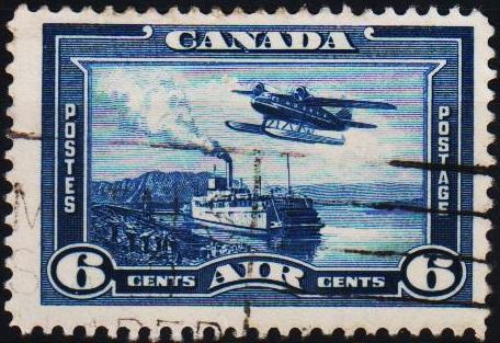 Canada. 1938 6c S.G.371 Fine Used