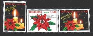 Honduras. 1996. 1319-21. Christmas. MNH.