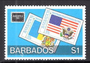 Barbados 685 MNH VF