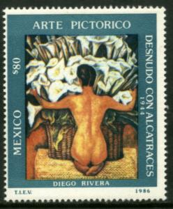 MEXICO 1452, Pictorial Art by Diego Rivera MNH
