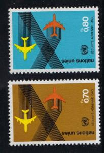 United Nations Geneva  1978 MNH  civil aviation