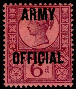 SGO45, 6d purple/rose-red, LH MINT. Cat £110.