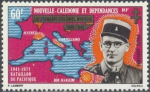 New Caledonia Scott #'s C81 MNH