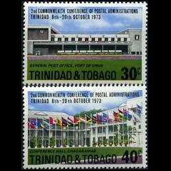 TRINIDAD & TOBACO 1973 - Scott# 239-40 P.O. Set of 2 NH