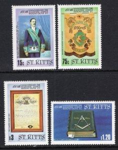 St Kitts 169-172 MNH VF