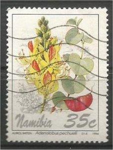 NAMIBIA, 1994, used 35c, Flowers:. Scott 762