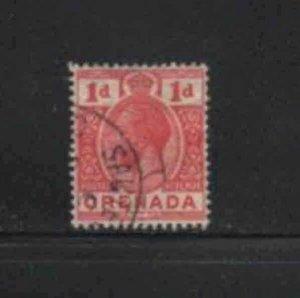 GRENADA #80  1913  1p  KING GEORGE V       F-VF  USED  e