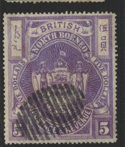 North Borneo Sc#48 Used