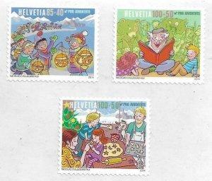 2014    SWITZERLAND  -  SG.  J409 / J411  -  FAMILY RITUALS  -  MNH