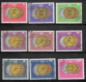 Panama #487-87H Used Set