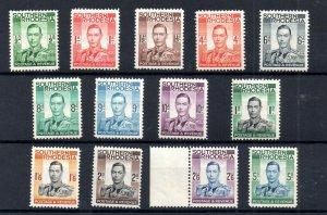 Southern Rhodesia KGVI 1937 mint LHM set SG40-52 WS18718
