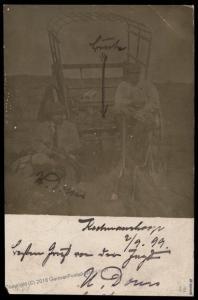 Germany 1899 SW Africa Registered KEETMANSHOOP DSWA 2 Color Stamps RPPC Co 78449
