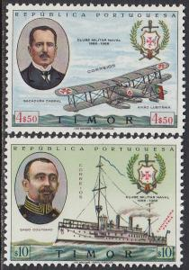 Timor 323-4 MNH - Navy Club Issue