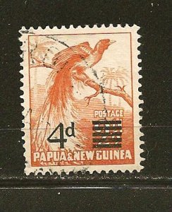 Papua New Guinea 137 Surcharged Used