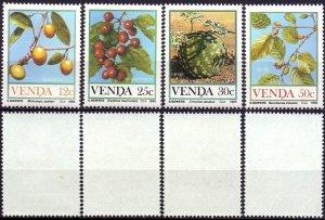 Venda. 1985. 112-15. Berries. MNH.