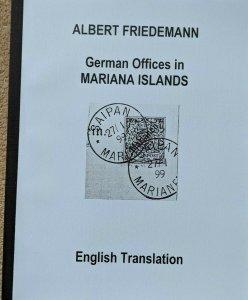 MARIANA ISLANDS German Colonies Friedemann Stamps Postmarks English Translation