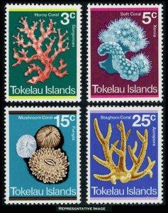 Tokelau Scott 37-40 Mint never hinged.