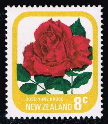 New Zealand #591a Josephine Bruce Rose; MNH (0.70)