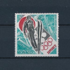 [45018] Monaco 1972 Olympic games Sapporo Ski jumping MNH