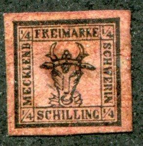 Mecklenburg Schwerin Sc.# 1  MLH*