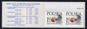 Poland 3663a Booklet MNH VF