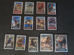 Gibraltar 2008 Sc 1115-27 Bird set MNH